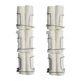 Capri Cotton Roll Holder 6/Pk