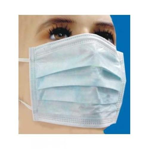 Capri Disposable 3 Ply Face Mask Elastic Loop  100/PK
