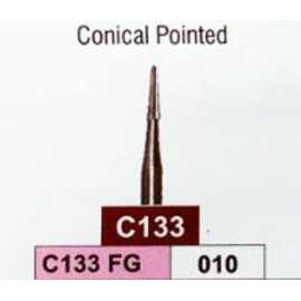 Jota Conical Pointed Carbide Bur (C133 FG) #10