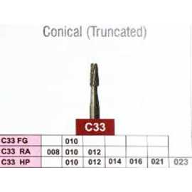Jota Conical Truncated Carbide Burs