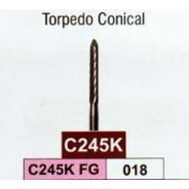 Jota Torpedo Conical Carbide Bur (C245K FG) #18