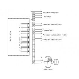 Woodpecker Uds-N2 Piezo Ultrasonic Scaler With Tip..