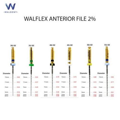 Waldent Walflex Anterior File 2%