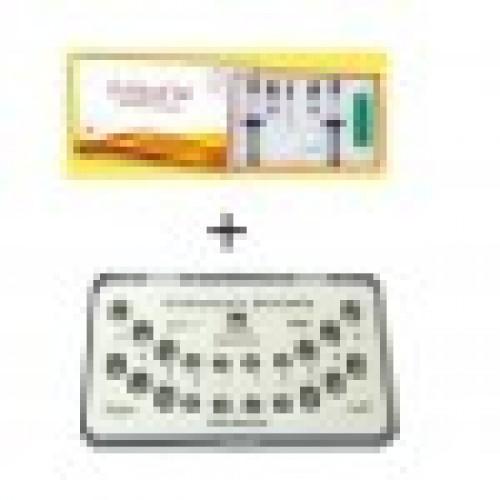 Waldent Metal Bracket 50 Kits + Anabond Orthofix Kit (Free)  Combo