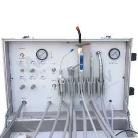 Waldent Portable Dental Unit With  Suction and Light Cure Unit