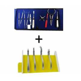 Api Orthodontic Instruments Kit + Plier Stand Combo