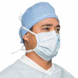 Surgical Face Mask-3 Ply tie back Pk/100