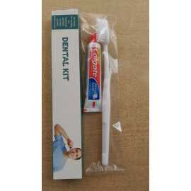 Paper Box Dental Kit With Tooth Paste And Tooth Brush