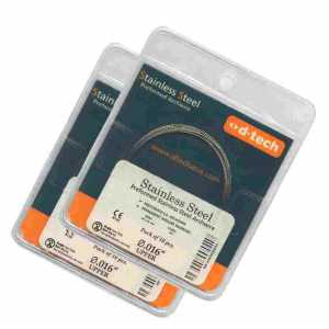 D-Tech Stainless Steel Preformed Round Archwire
