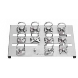 Gdc Rubber Dam Clamp Set Of 11 With Clamp Holder (Rdcob11)