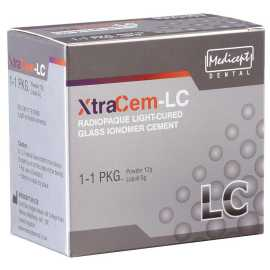 Medicept Dental Xtracem Light Cure Glass Ionomer Restorative Cement