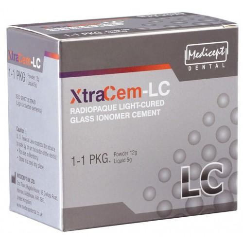 Medicept Dental Xtracem Light Cure Glass Ionomer Restorative Cement