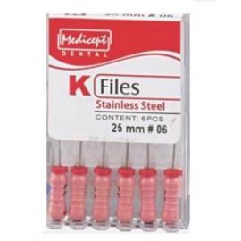 Medicept Dental K Files -25mm