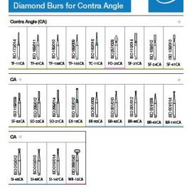Oro Diamond Burs For Contra Angle
