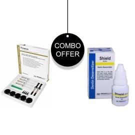 Prevest Denpro Florence Teeth Whitening Kit + Shield Active Desensitizer Combo