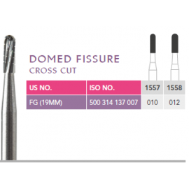 Prima Dental Domed Fissure Bur (Cross Cut)