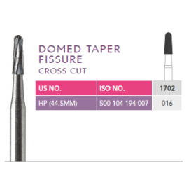 Prima Dental Domed Taper Fissure Bur (Cross Cut)