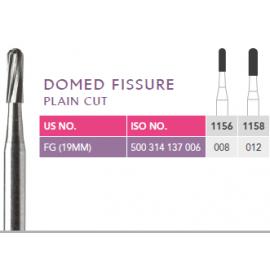 Prima Dental Domed Fissure Bur (Plain Cut)