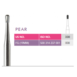 Prima Dental Pear Bur (330)