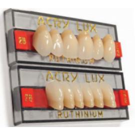 Ruthinium Acry Lux Teeth Set-Three Layer
