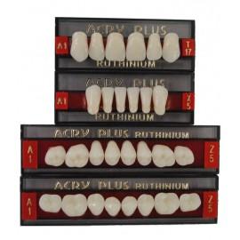 Ruthinium Acry Plus Acrylic Teeth set - 4 Layer