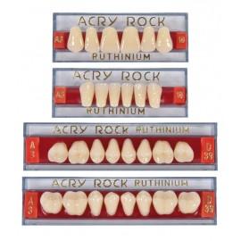 Ruthinium ACRY ROCK Acrylic Teeth Set-Two Layer (Pk/4 full set)