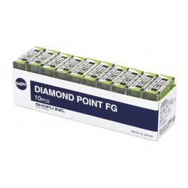 Shofu Diamond Bur FG - Super Coarse Grit (Black Banded Shank)