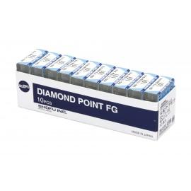 Shofu Diamond Bur FG - Regular Grit (Un-Banded Shank)