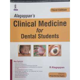 Alagappan's Clinical Medicine for Dental Students 3rd Edition