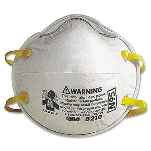 3M 8210 Particulate Respirator N95 FACE MASK #NIOSH_Approved